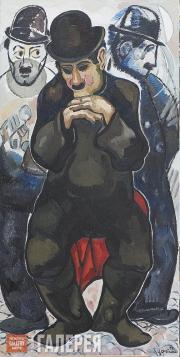 Tsereteli Zurab. Night and Day Dreams. Charlie Chaplin. 2005