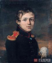 К.А.ЗЕЛЕНЦОВ. Портрет военного. 1829 (?)