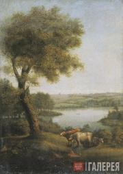 Semion SHCHEDRIN. Landscape with Cows