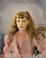 Serov Valentin. Portrait of Grand Duchess Olga Alexandrovna as a Child. 1893