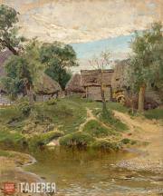 Polenov Vasily. Turgenevo Village. 1885