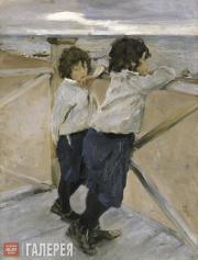 Serov Valentin. Children. 1899