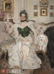 Serov Valentin. Portrait of Princess Zinaida Yusupova. 1900-1902
