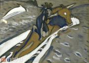 Serov Valentin. The Rape of Europa. 1910