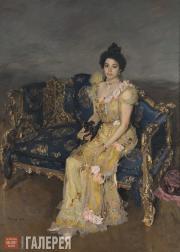Serov Valentin. Portrait of Sofia Botkina. 1899