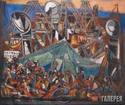 Янко Марсель. Корабль иммигрантов. 1945