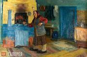 Dubovik Nikolai. A Village House. 2005