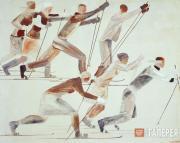 Лыжники. 1931