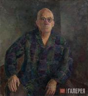 Falk Robert. Portrait of Aleksander Gabrichevsky. 1953