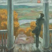 Popkov Viktor. Autumn Rains. Pushkin. 1974