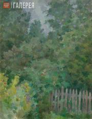 Falk Robert. A Landscape with an Elder Tree. 1954