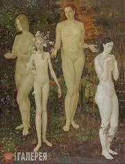 Zhilinsky Dmitry. Four Seasons. 1974