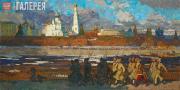 Popov Igor. Spring 1918. 1957