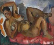 Falk Robert. Female Nude. Crimea. 1916