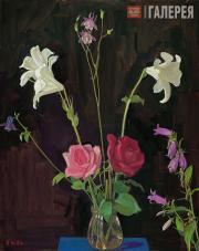 Жилинский Дмитрий. 1937 год. Правая часть триптиха. 1987
