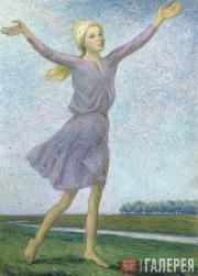 Chernyshev Nikolai. The Fluff Is Flying. 1962