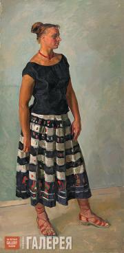 Жилинский Дмитрий. Нина. 1958