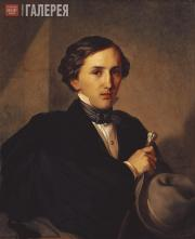 Khudyakov Vasily. Portrait of Architect Alexander Stepanovich Kaminsky. 1850