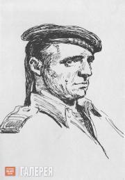 Tsigal Vladimir. The Paratrooper Zhora Karpin. 1943