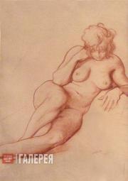 Léon Bakst. Nude Female Sitter. 1905