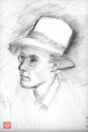Falk Robert. Portrait of Jerzy Kucharski. 1950s