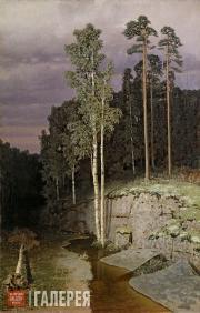Kuindzhi Arkhip. On Valaam. 1870s