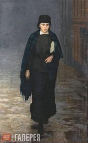 Ярошенко Николай. Курсистка. 1883