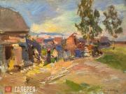 Korovin Konstantin. Okhotino. A Sunny Day. 1915