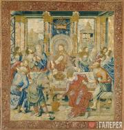 Неизвестный художник. Тайная вечеря. Около 1520–1530