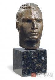 С.Д.ЛЕБЕДЕВА. Портрет В.П.Чкалова. 1936