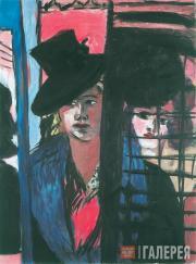 Макс БЕКМАН. Две женщины. 1940