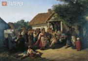 Konstantin TRUTOVSKY. Village Dance. 1860