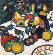 Malevich Kazimir. Still-life (Fruit). 1908