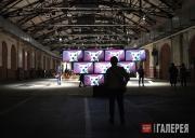 Стёртевант Элейн. Инсталляция на выставке «abc – Art Berlin contemporary»