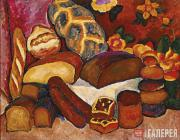 Mashkov Ilya. Bread. 1913