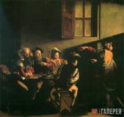 Caravaggio (Michelangelo Merisi da Caravaggio). The Calling of St. Matthew. 1599
