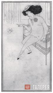 Aubrey BEARDSLEY. Caricature of J.M. Whistler, c.1893–1894