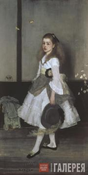Whistler James McNeill. Harmony in Grey and Green: Miss Cicely Alexander. 1872–1