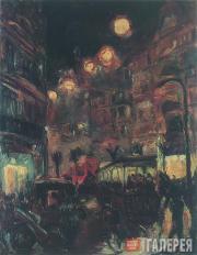 Макс БЕКМАН. Улица ночью. 1913