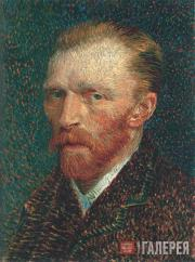 Vincent van Gogh. Self-portrait. 1887
