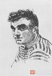 Tsigal Vladimir. The Paratrooper O. Dzhayani. 1943