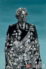 Борис Орлов. Национальный тотем. А.С. Пушкин в маршальском мундире. 1982