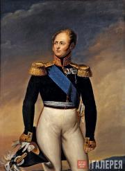 Unknown artist. Portrait of Emperor Alexander I