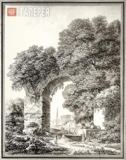 Semion SHCHEDRIN. Landscape with Ruins. 1799
