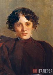 Ghe Nikolai. Portrait of M. Gabaeva. 1886