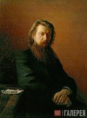 Ghe Nikolai. Portrait of Alexei Potekhin. 1876