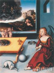 Cranach the Elder Lucas. Melancholy. 1532