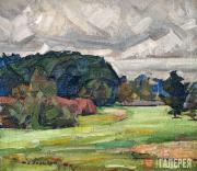 Н.А. ЗАГРЕКОВ. Пейзаж. 1920-е
