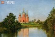 Polenova Maria. Church in Olshanka, a Village in the Tambov Governorate