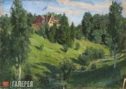 Polenov Vasily. The House at Imochentsy. 1876